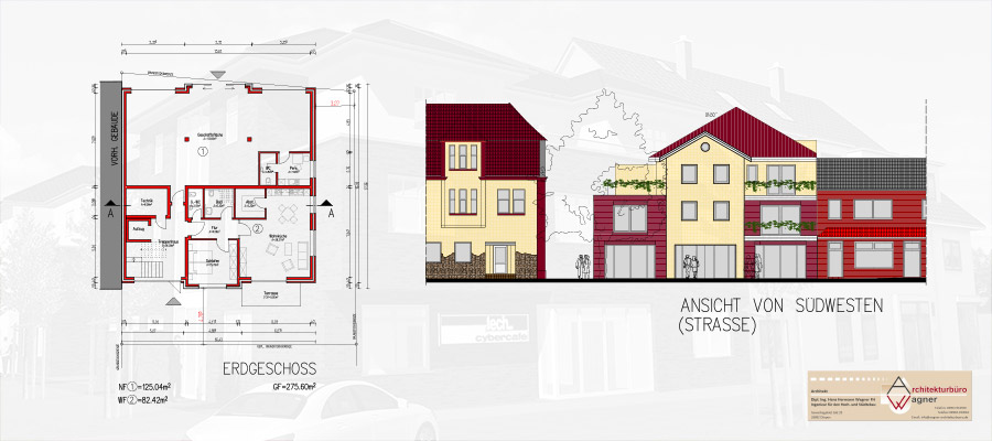 Neubau-Eigentumswohnung (KfW-55) mit zwei Balkonen | Papenburg-Obenende
